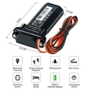 Mini Waterproof GSM GPS tracker ST-901 Builtin Battery for Car & motorcycle