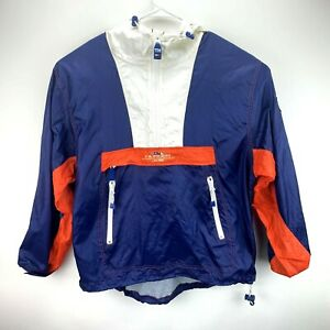 Vintage Tommy Hilfiger Sailing Gear Windbreaker Jacket Size M Medium Half Zip