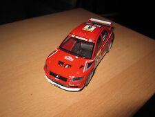Carrera Universal 132   Mitsubishi Lancer rot umbau auf uni fast wie neu