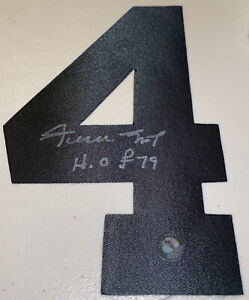 Willie Mays Autographed Number Four Say Hey Authentic HOF 79 Inscribed! PSA DNA