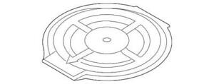 Genuine Ford Spare Cover 7T4Z-7845026-AA