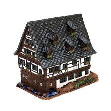 Keramik Teelichthaus Lichterhaus Teelichthalter Schiefes Haus Ulm 13 cm 40562