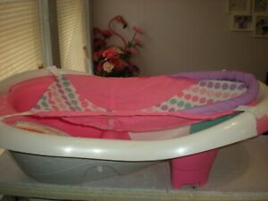FISHER PRICE PINK PEARL TUB WITH MESH SLING *