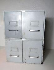 Meuble de Rangement 4 tiroirs Vintage Industriel Loft Casier