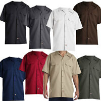Dickies Short Sleeve Work Shirt Herren-Hemd Freizeithemd Kurzarmhemd Regular Fit