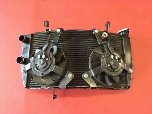 D25  Ducati 1198 S 1098  848   Wasserkühler Wasser Kühler mit Lüfter