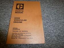 Caterpillar Cat 3208 Vehicular Engine Parts Catalog Manual S/N 79V1408-79V3593