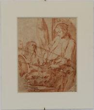 DESSIN du XVIIIème siècle JUDITH ET HOLOPHERNE