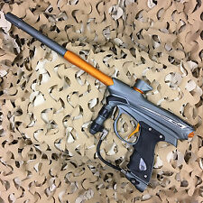 *USED* Proto Reflex Rail Electronic .68 Cal Paintball Gun Marker - Grey/Orange