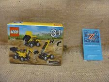 Lego Creator 3 In 1 Construction Vehicles 31041