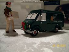 Dept. 56 Snow Village Gifts on the Go Set of 2-Delivery Van & Driver #56.55035