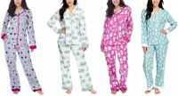 NEW Munki Munki Ladies' 2-Piece Flannel Pajama Set