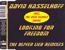 David Hasselhoff - LOOKING FOR FREEDOM (Oliver Lieb Remix) Maxi CD Single © 1996