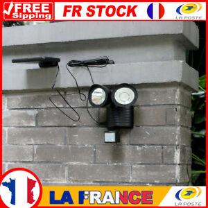 Détecteur de mouvement PIR LED aux lampe solaire extérieure 22 réverbère so