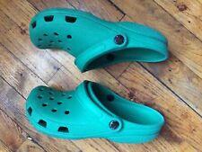 Crocs Classic Teal Size M 7 - W 9 Slip On Shoes