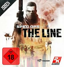 Spec Ops: The Line (PC seulement Steam Key Download Code) pas de DVD, no cd, Steam only