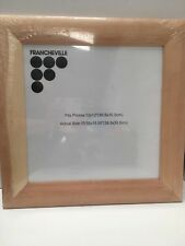 New large wooden 5cm frame free standing 39.5cm x 39.5cm clear perspex