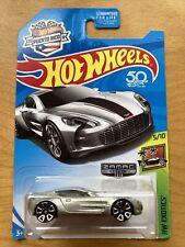 2018 Hot Wheels Zamac HW Exotics 5/10 ASTON MARTIN ONE-77 Zamac