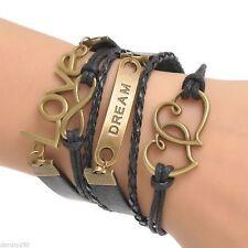 Black Statement Fashion Bracelets