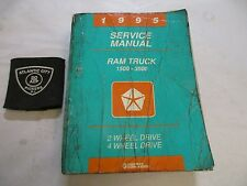 1995 DODGE RAM TRUCK 1500 2500 3500 BR SERVICE REPAIR SHOP MANUAL