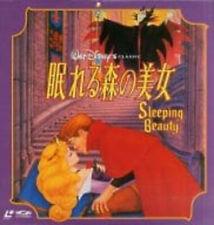 Disney - Sleeping Beauty - Japanese Laserdisc + OBI **New & Sealed**
