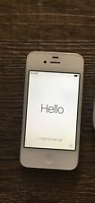 Apple iPhone 4s - 32GB - White A1387 Used Good Condition Charger