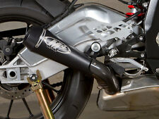 NEW 2010 - 2014 BMW S1000RR S 1000 RR M4 BLACK GP MOUNT SLIP ON MUFFLER EXHAUST