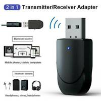 USB 5.0 Bluetooth Receiver Adapter 3.5mm AUX Stereo For T K4E1 Speaker U6O4