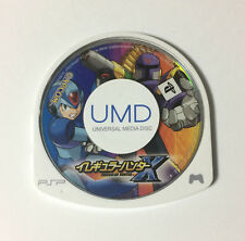 USED PSP Disc Only Irregular Hunter X JAPAN PlayStation Portable Rockman Megaman