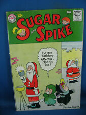 SUGAR AND SPIKE 32 VG F CHRISTMAS CVR 1960