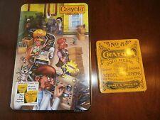 NEW Crayola 1953-1978 Box & NEW No. 8 Trade Crayola Mark Gold Medal