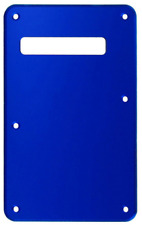 NEW BACKPLATE MIRROR BLUE stratocaster  pour guitare strat