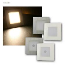 LED Wall 230V White/Silver, Step Light, Stair Lighting For up - Can