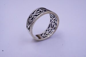 JAMES AVERY STERLING SILVER SCROLL ADOREE RING SIZE 7.5