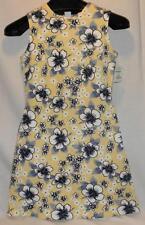 Aqua Blues NWT Cute Hawaiian Print Sleeveless Dress, Size M Free Shipping!