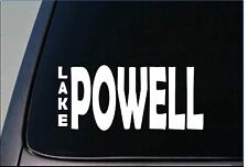 "Lake Powell Sticker *G858* 8"" vinyl fishing house boat utah part river cruise"