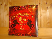 BLACKMORE´S NIGHT A Knight in York SONY MUSIC 2x 180g LP ED1 NEW SEALED