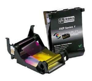 Zebra Farbband True Colours ZXP 1 Series printer ribbon 800011-140 YMCKO 4-COLOR