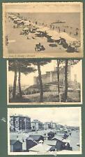 Marche. PORTO SAN. GIORGIO, Ancona. Tre cartoline d'epoca viaggiate...