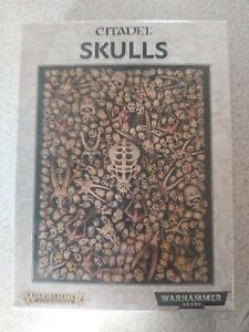 Warhammer Age of Sigmar Citadel Skulls new & sealed