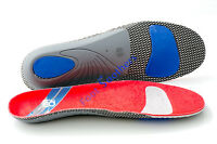 FootSoothers™ ProArch-X Orthotic Insoles Full length Arch Supports Density Pads