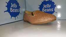 Jelly Beans Esac Girls Shoes Black / Gold / Silver Glitter Size 9-4