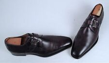 Magnanni 'Marco' Monk Strap Loafer- Catalux Grey- Size 12 M (S3)