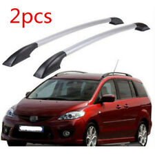 For Mazda 5 2008-2015 Silver Aluminum Roof Rack Top Roof Baggage Support