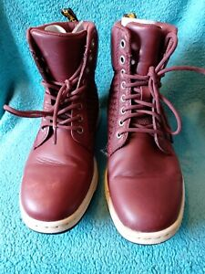 Dr Martens ox blood Leather Ankle Boots Size Uk 5