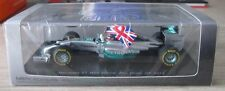 Spark 1.43 F1 Mercedes GP Lewis Hamilton World Champion 2014