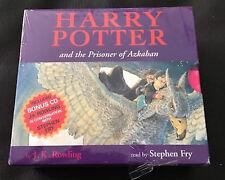 BRAND NEW Harry Potter and the Prisoner of Azkaban Audio CD Audiobook Set Rare