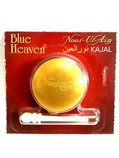 Nuevo * Noor ul no * Azul Cielo Indio Kajal Negro Kohl Eyeliner-Pote de 2.5g