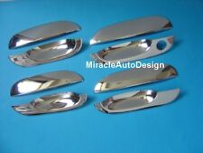 LHD Chrome Stainless Steel Door Handle Covers Set For 1995-2001 BMW E38 7-Series