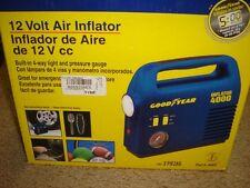 Good Year 12 volt air inflator pump with light i4000